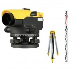 LEICA NA332 SET - комплект нівеліра оптичного