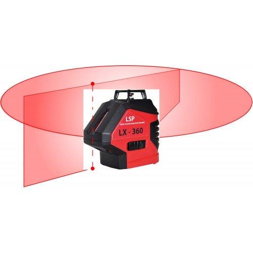 LSP LX-360 - нівелір лазерний рівень