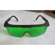 Окуляри для роботи з лазерним інструментом зелені