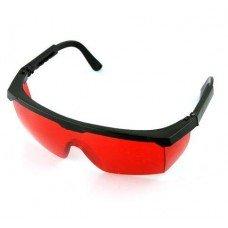 Окуляри для роботи з лазерним інструментом червоні